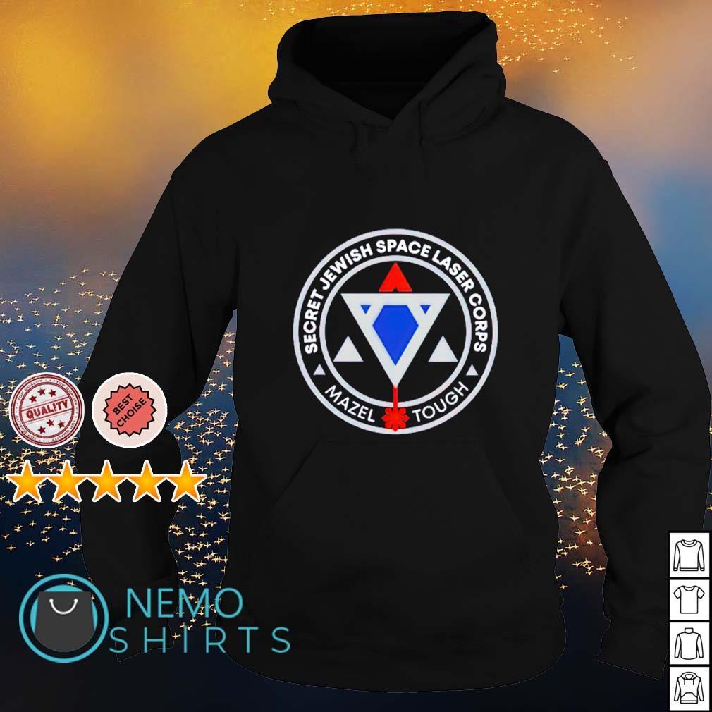 Secret Jewish space laser corps s hoodie