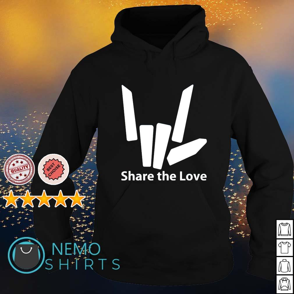 Share the love s hoodie