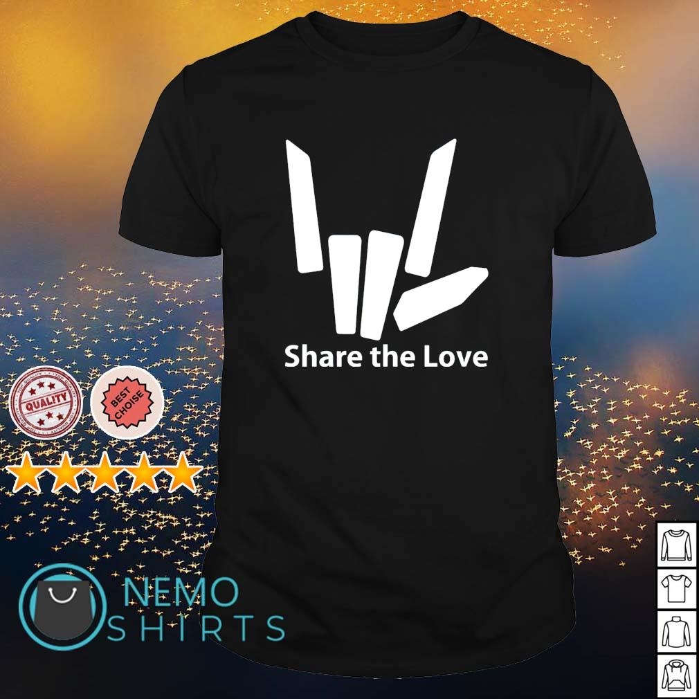 Share the love shirt