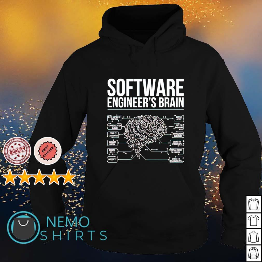 Software Engineer's Brain s hoodie