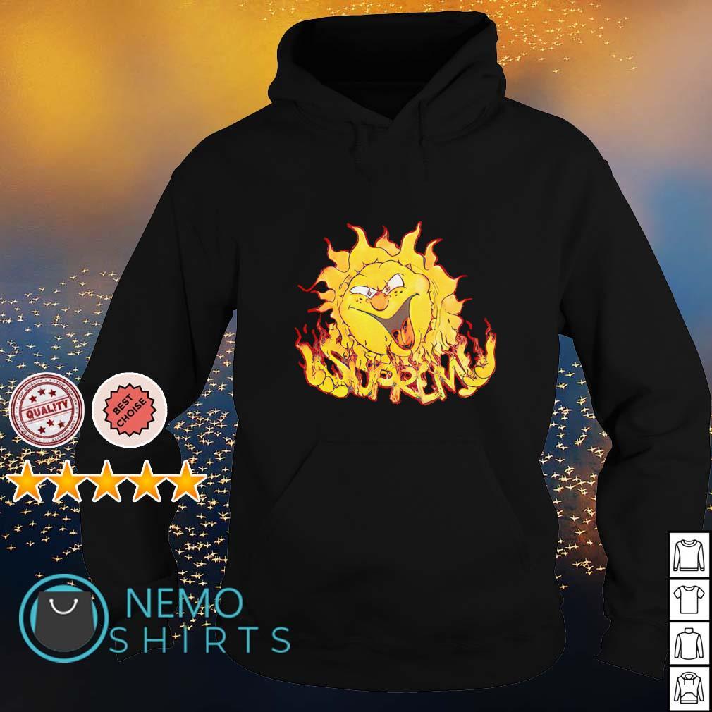Supreme Sun s hoodie