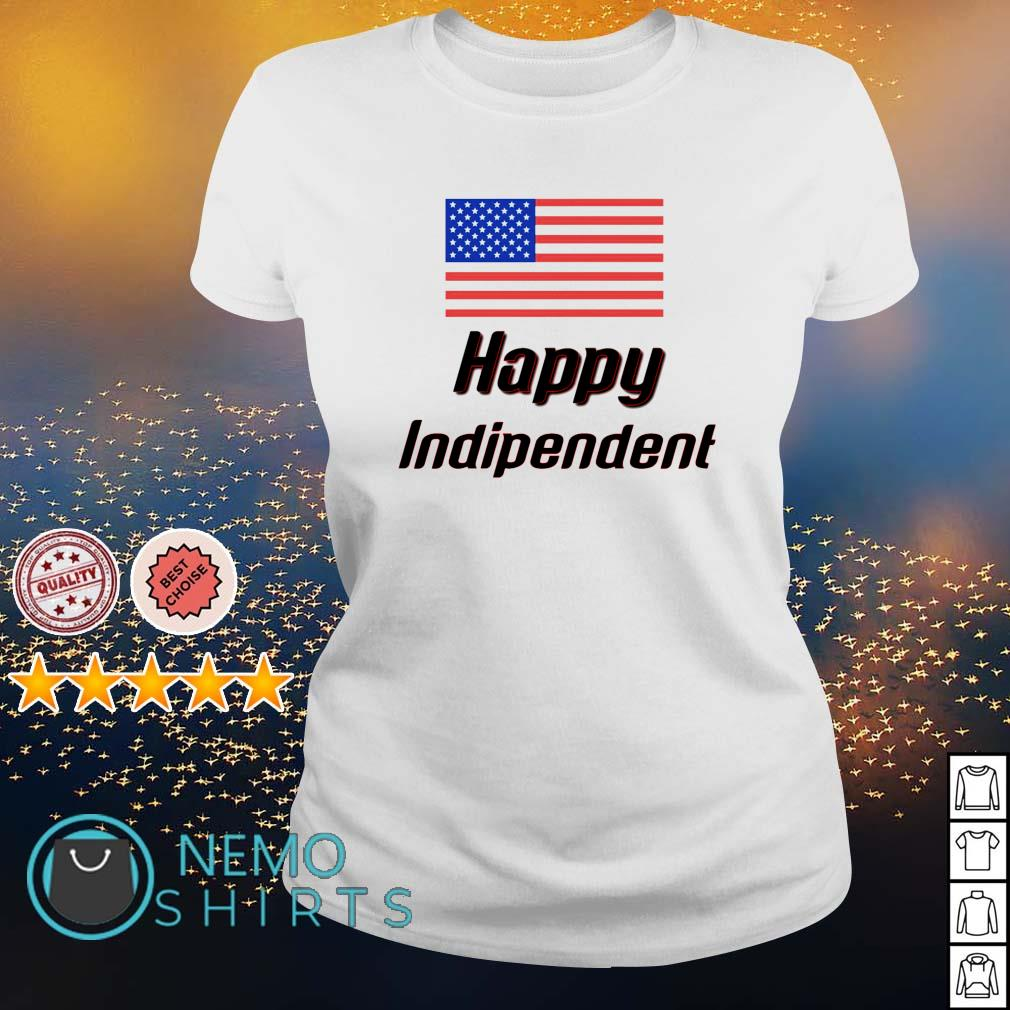 USA flag 4th July Independence Day s ladies-tee