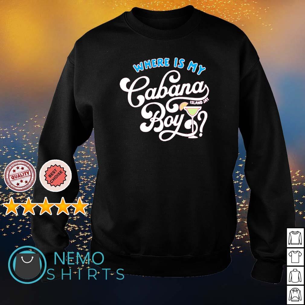 Where is my Cabana Boy s sweater