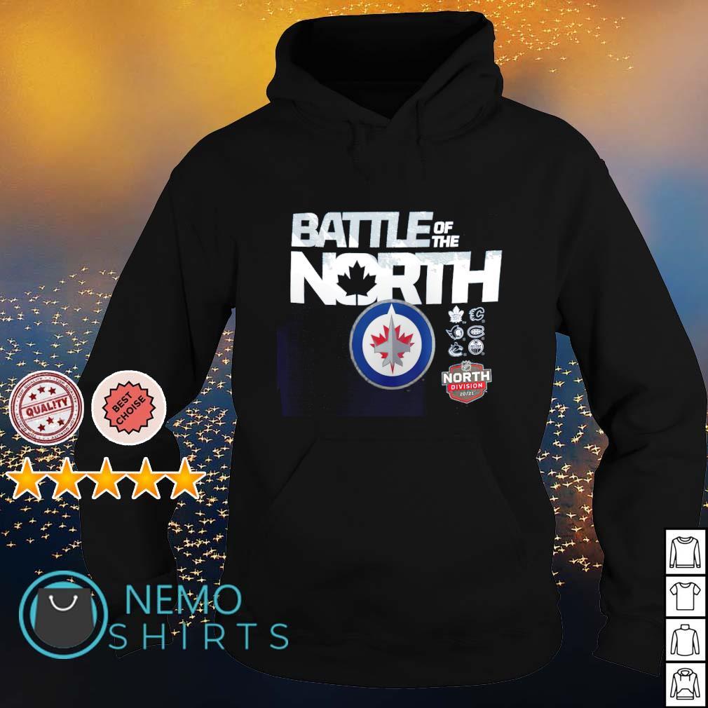 Winnipeg Jets battle of the north s hoodie