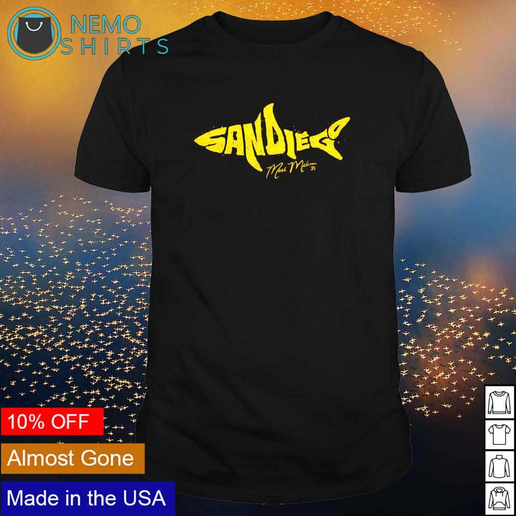 April was Shark Month for Mark Melancon shirt