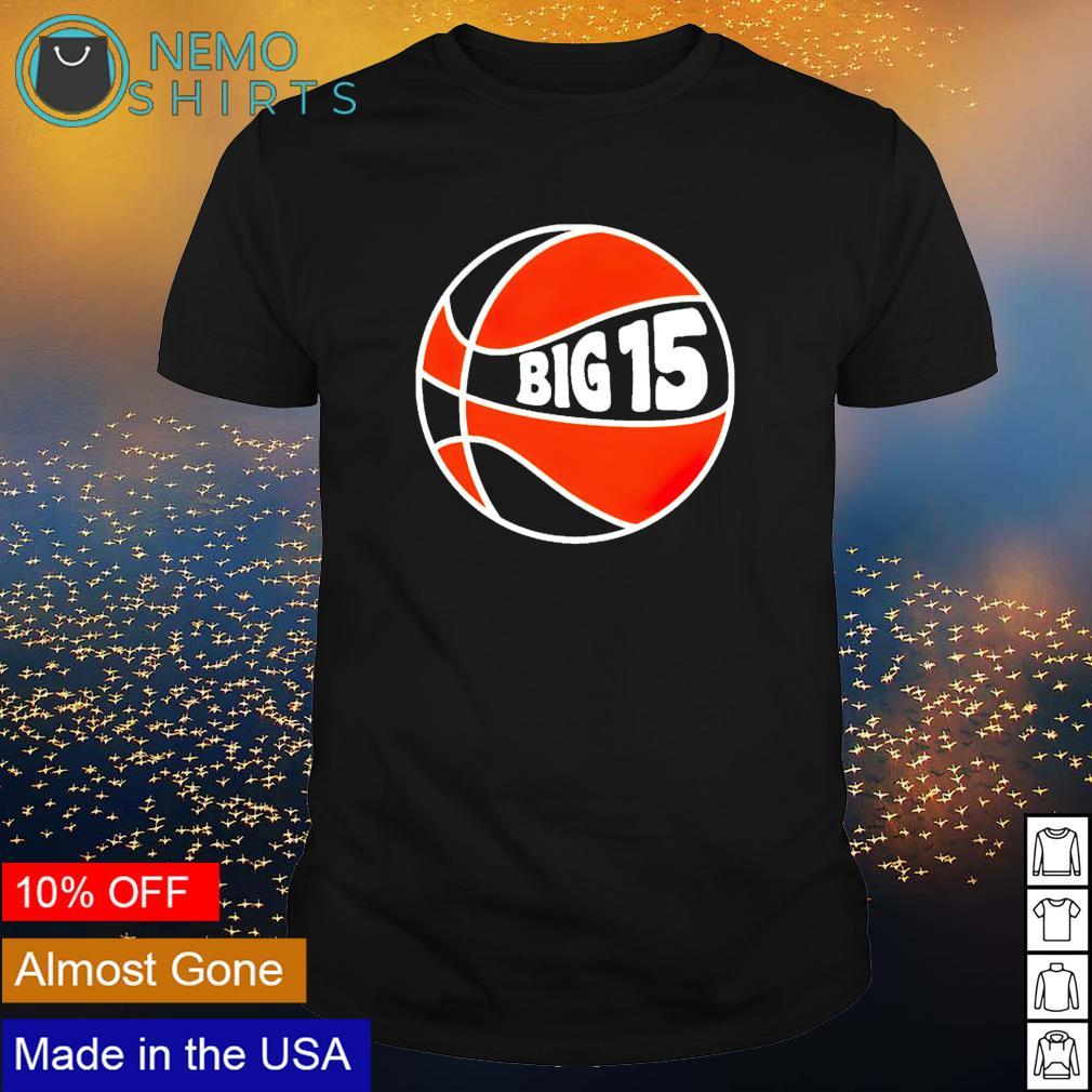 Big 15 New York basketball shirt