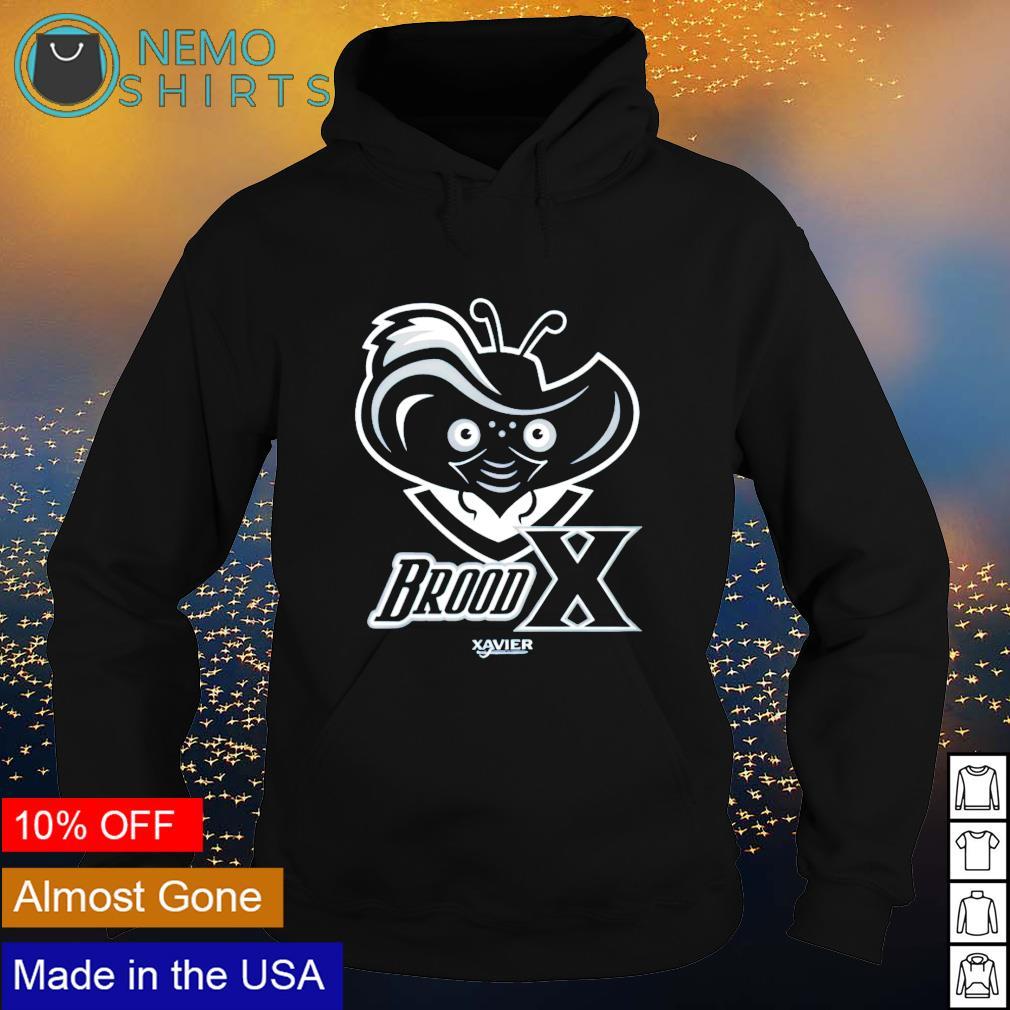 Brood x xavier university s hoodie
