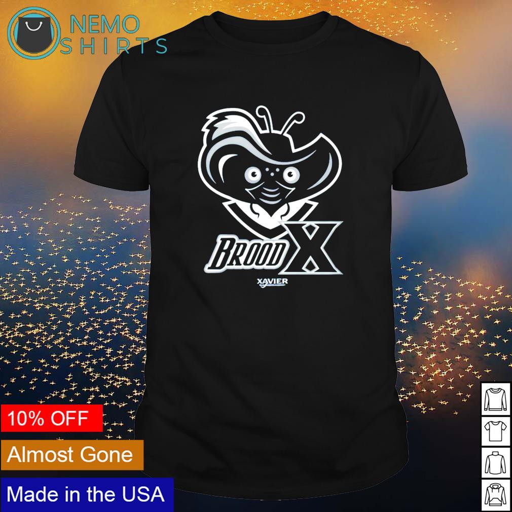 Brood x xavier university shirt