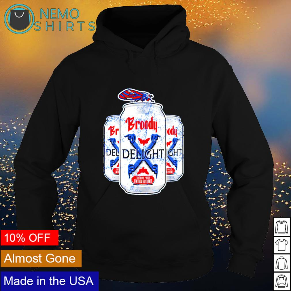Broody x delight brewed fresh underground s hoodie