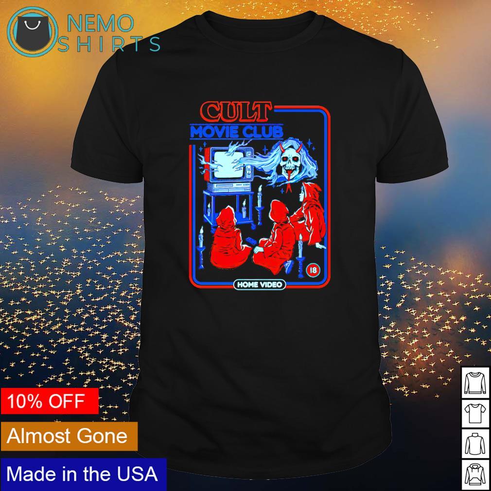 Cult Movie Club shirt