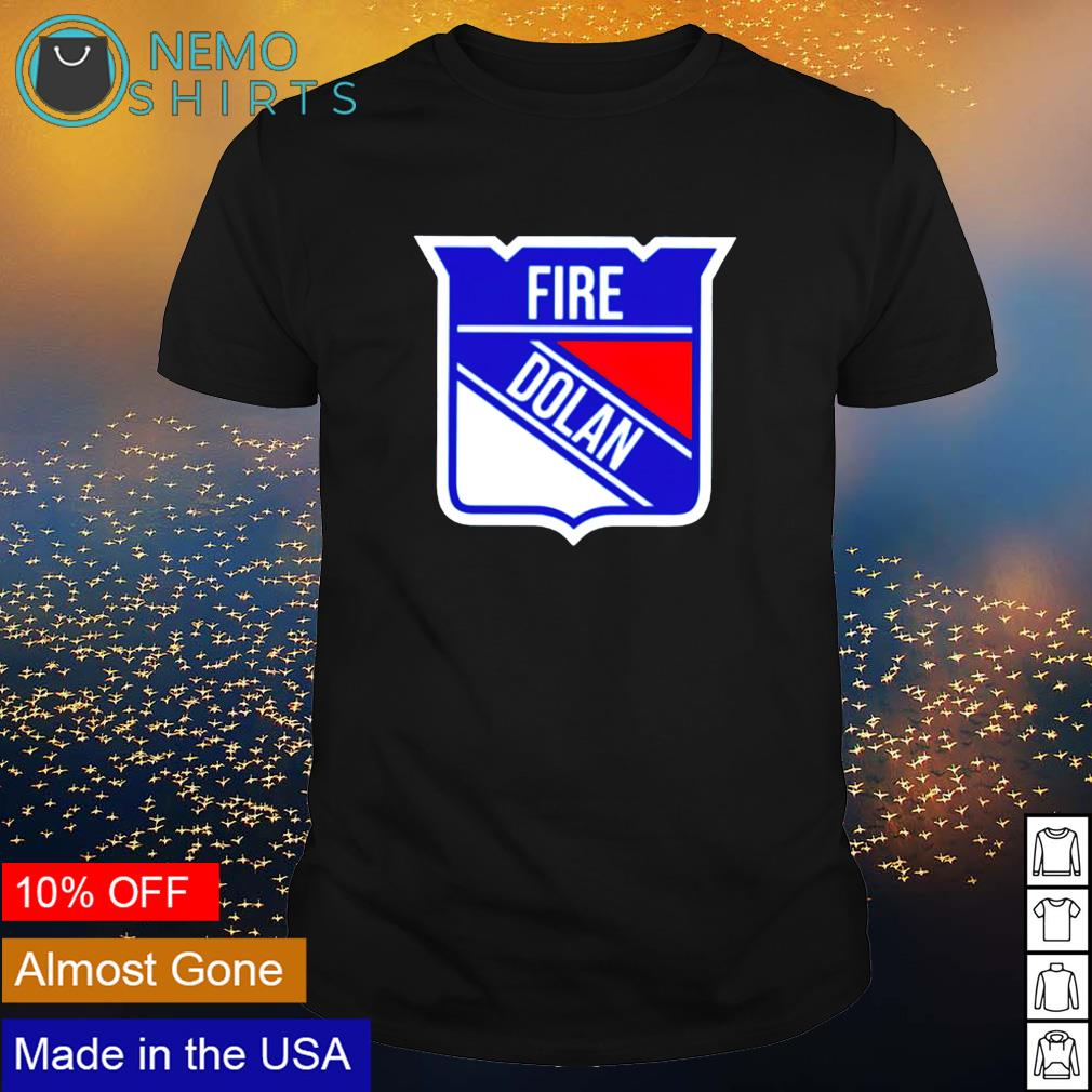 Fire Dolan New York Rangers shirt