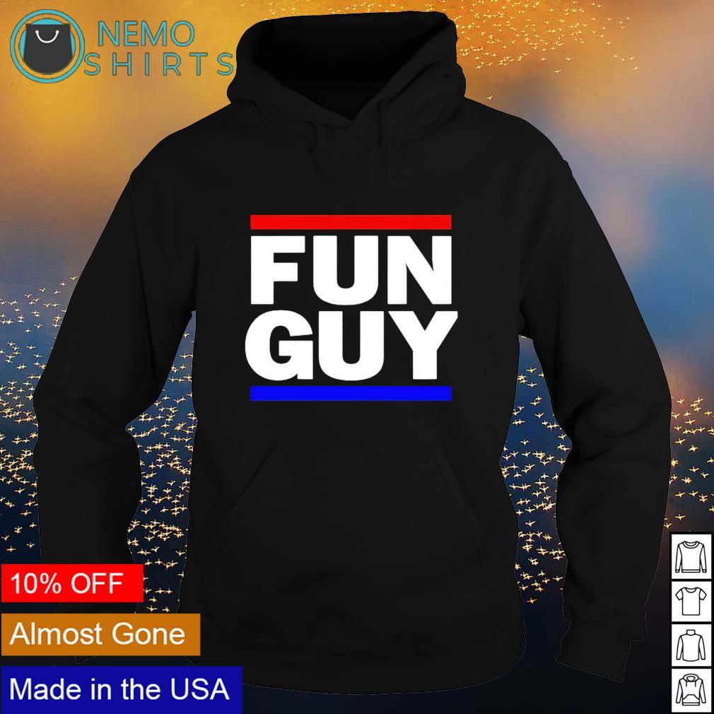 Fun Guy Los Angeles basketball s hoodie