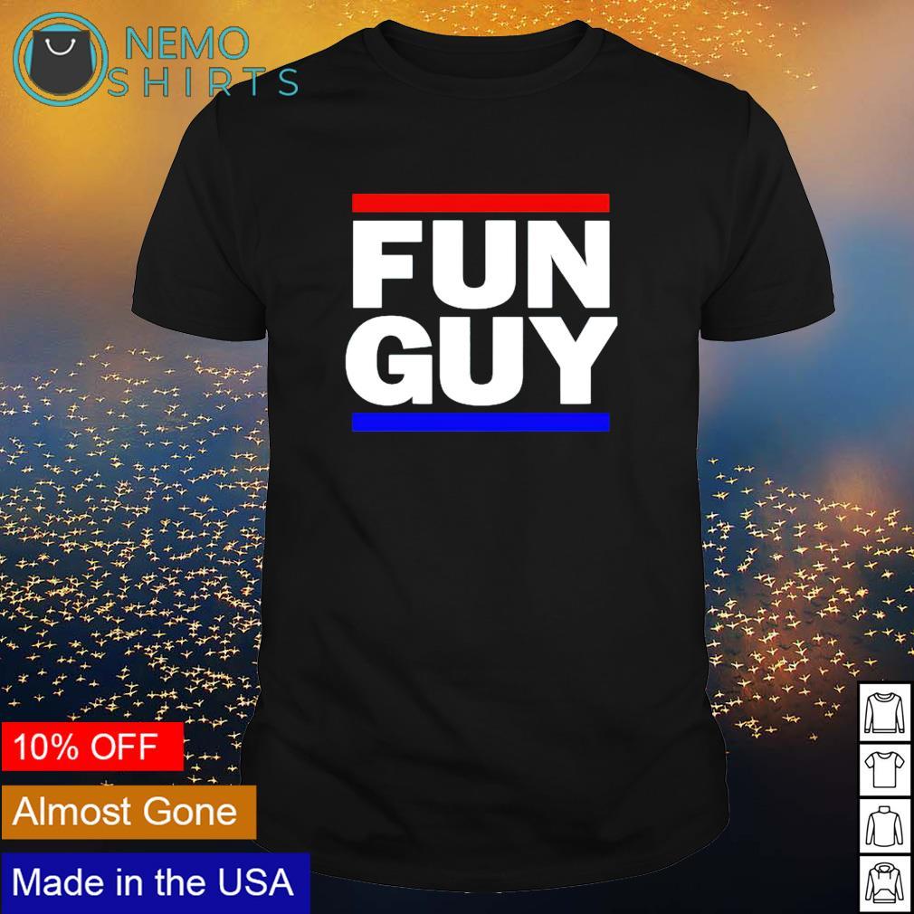 Fun Guy Los Angeles basketball shirt