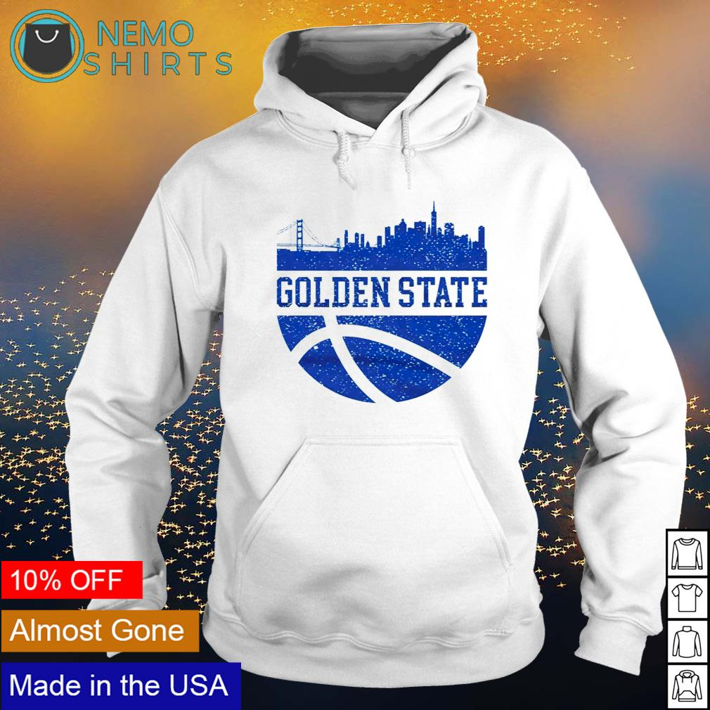 Golden State City Ball California Lifestyle s hoodie