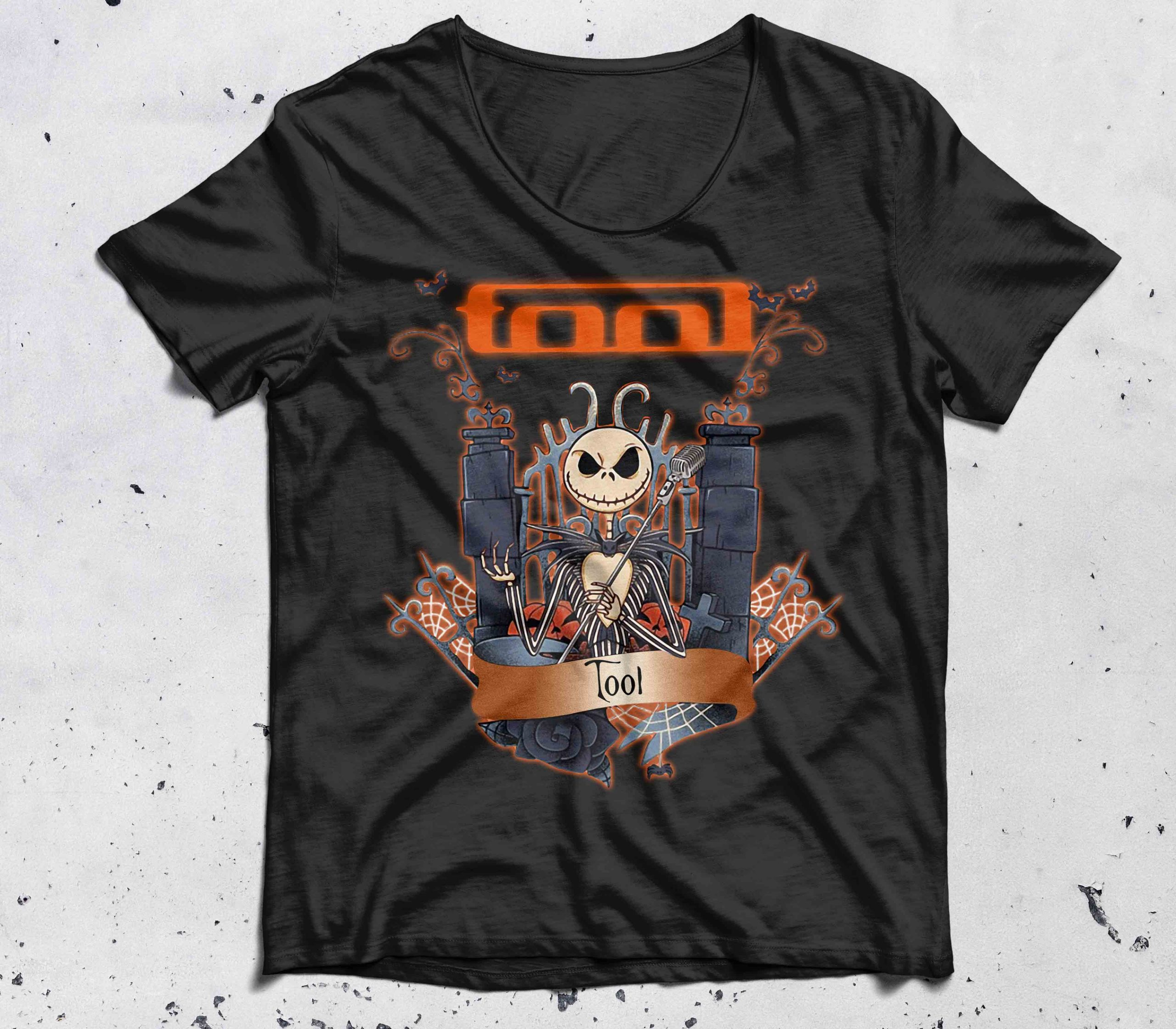 Halloween Jack Skellington Tool shirt