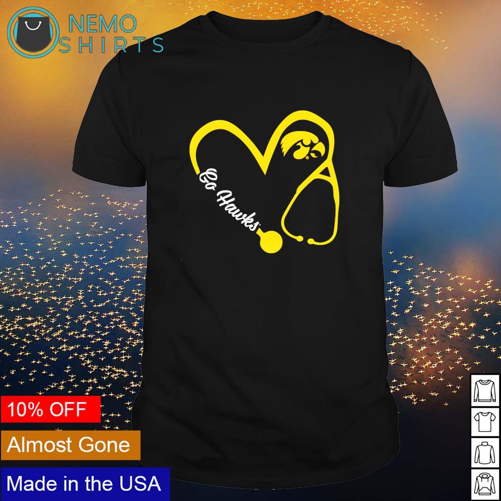 Iowa Hawkeyes Nurse go Hawks shirt