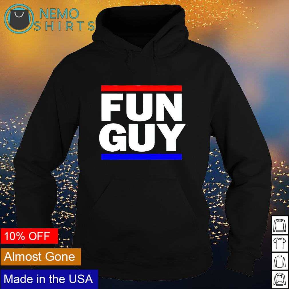 Los Angeles basketball fun guy s hoodie