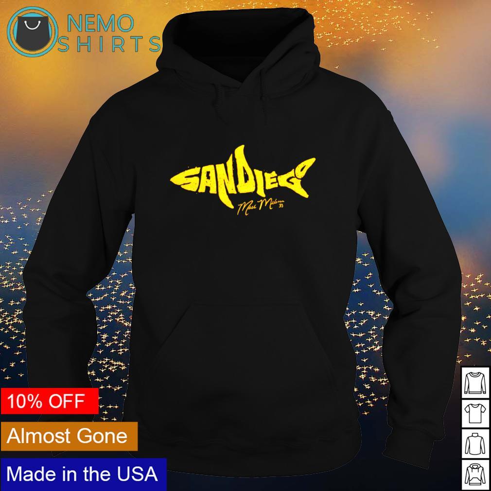 Mark Melancon the shark apparel San Diego s hoodie