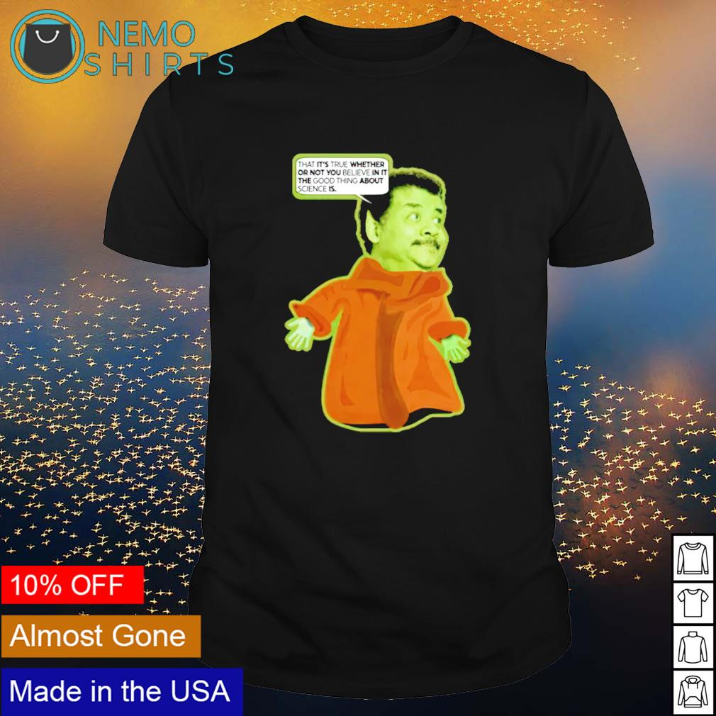 Neil deGrasse Tyson baby Tyson wisdom shirt