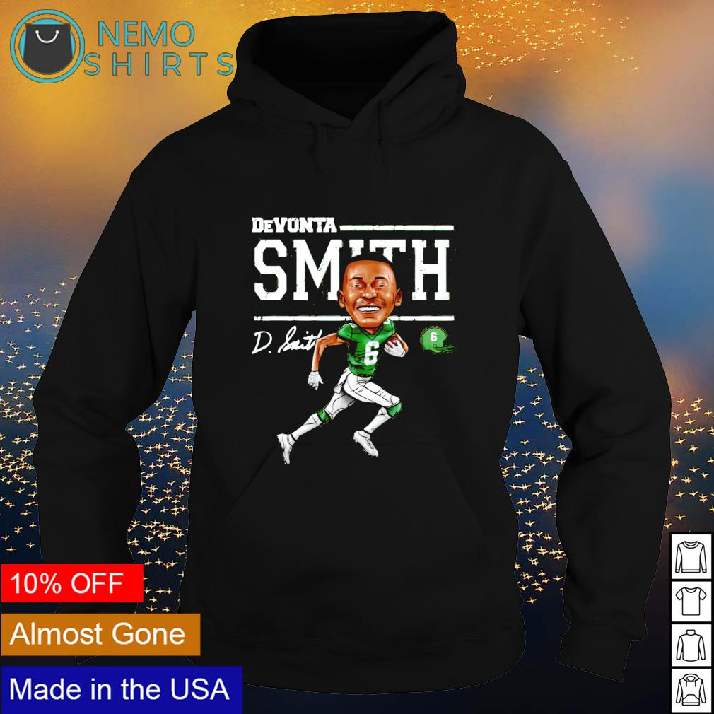 Philadelphia Football Devonta Smith Cartoon signature s hoodie
