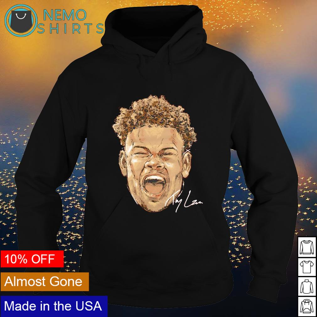 San Francisco Football Trey Lance Scream signature s hoodie
