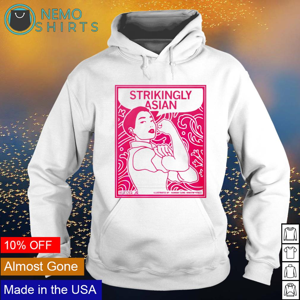 Strikingly Asian s hoodie