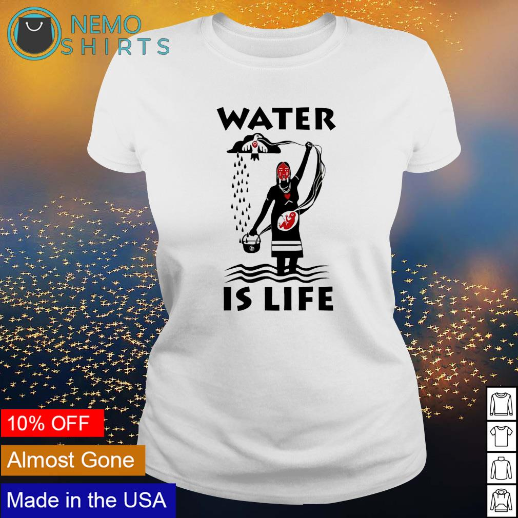 Water is life s ladies-tee