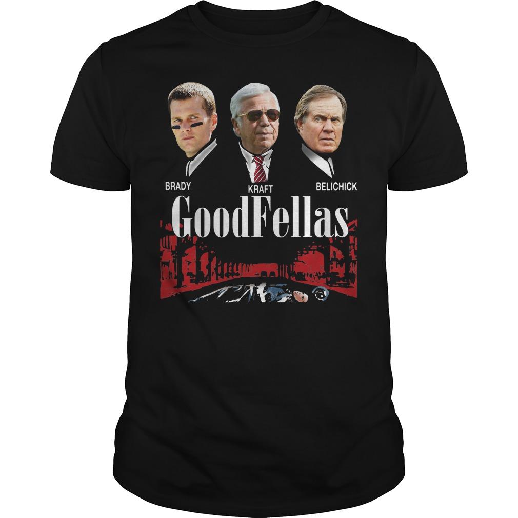 Brady Kraft Belichick Goodfellas shirt