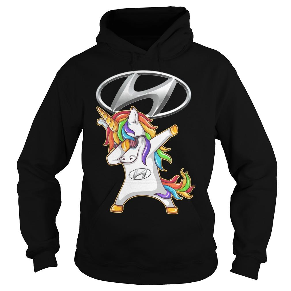 Hyundai Unicorn Dabbing Hoodie