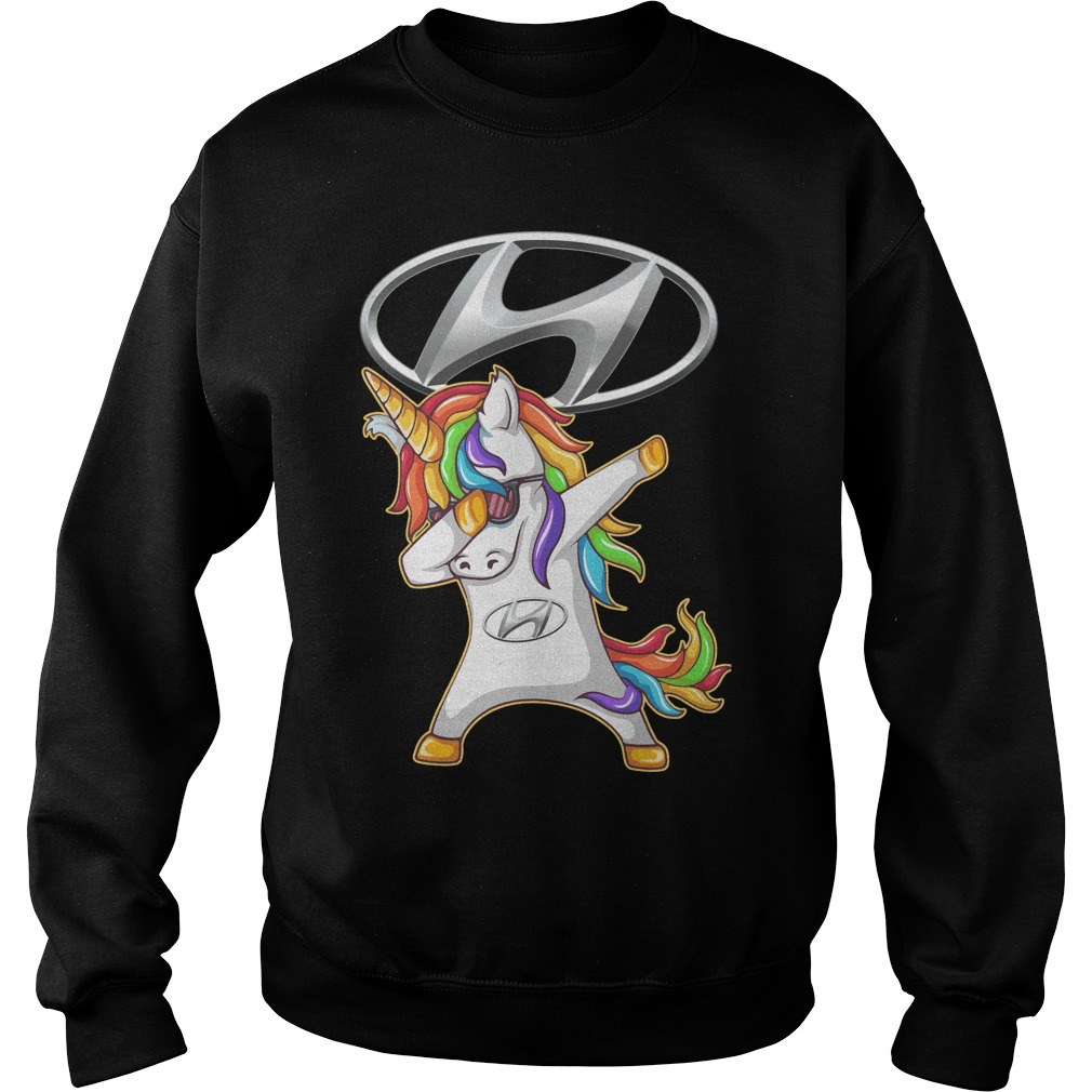 Hyundai Unicorn Dabbing Sweater
