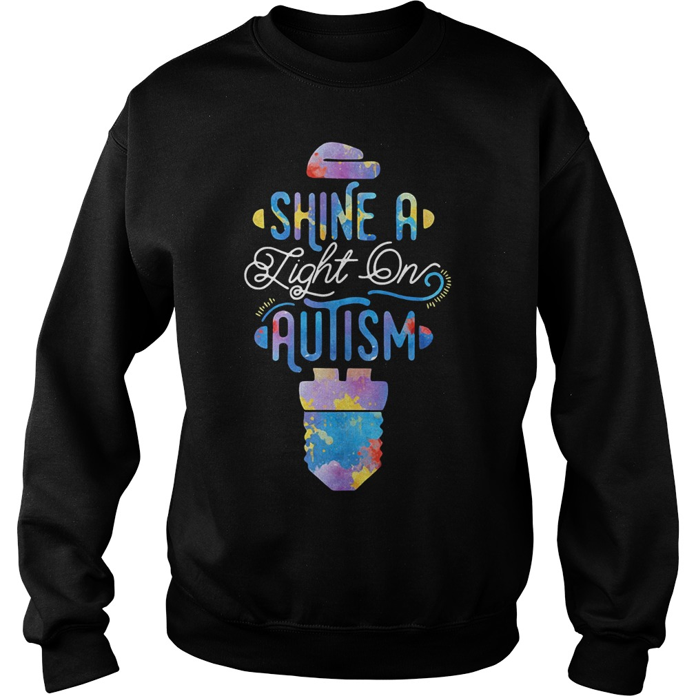 Shine a light on autism Sweater
