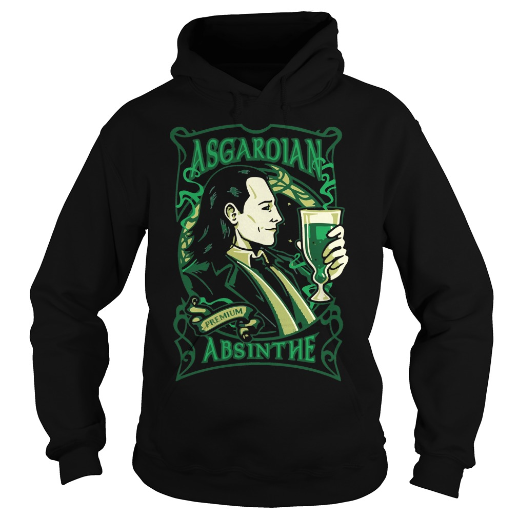 Asgardian Absinthe Loki Marvel Movie Hoodie