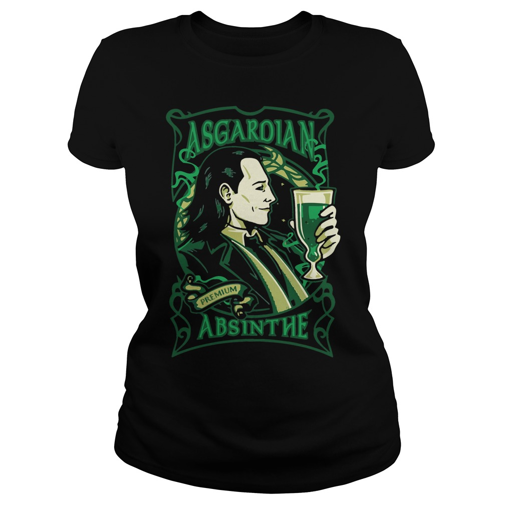 Asgardian Absinthe Loki Marvel Movie Ladies tee