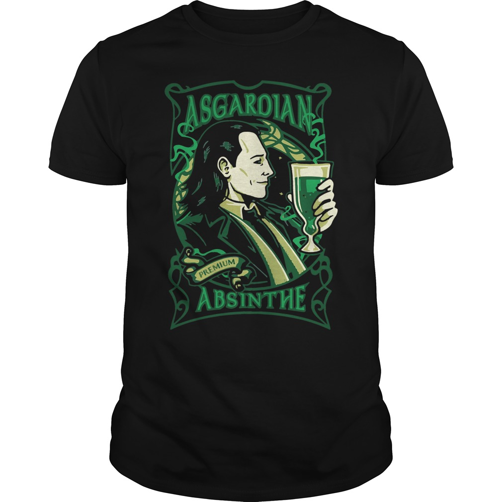 Asgardian Absinthe Loki Marvel Movie shirt