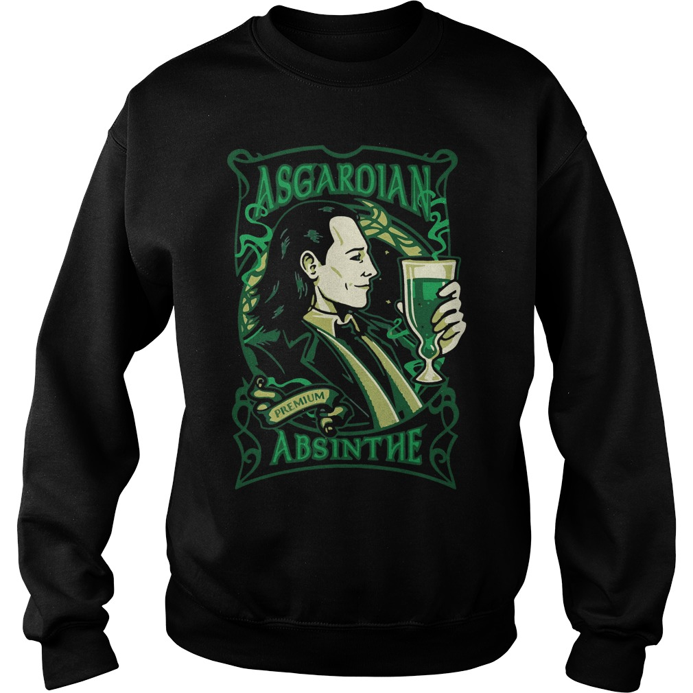 Asgardian Absinthe Loki Marvel Movie Sweater