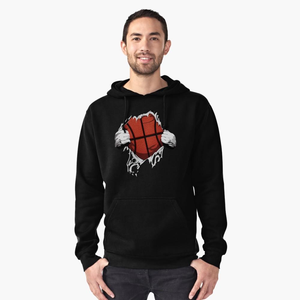 Basketball inside me shirt