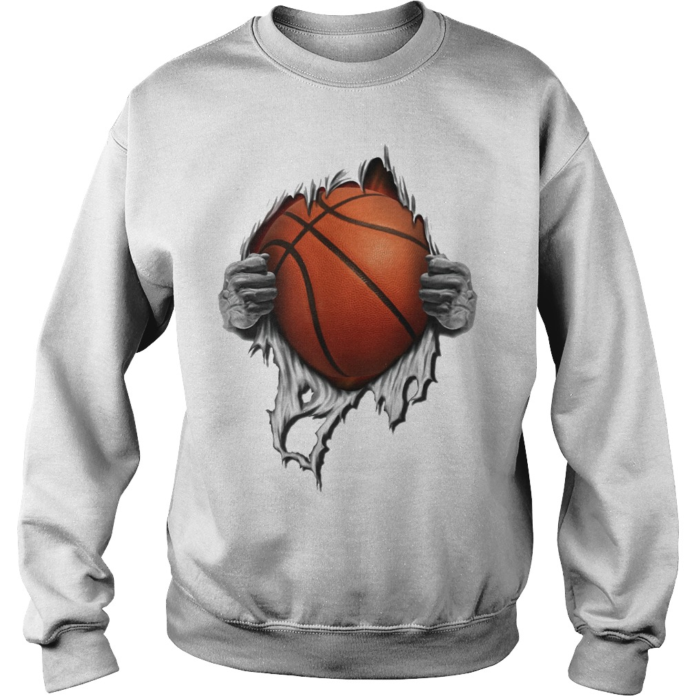 Basketball inside me Sweater