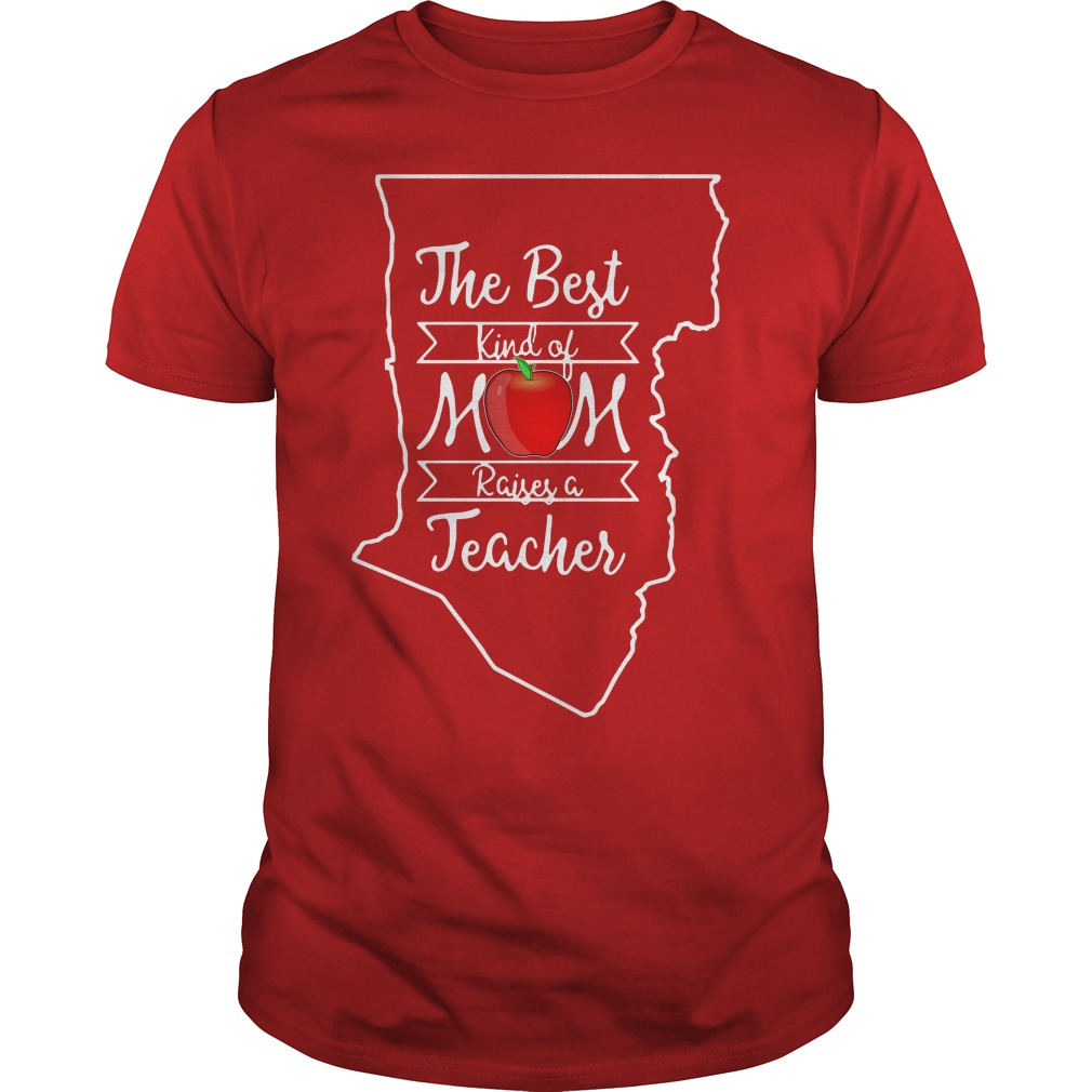 The best kind of mom raises a teacher New Mexico shirt