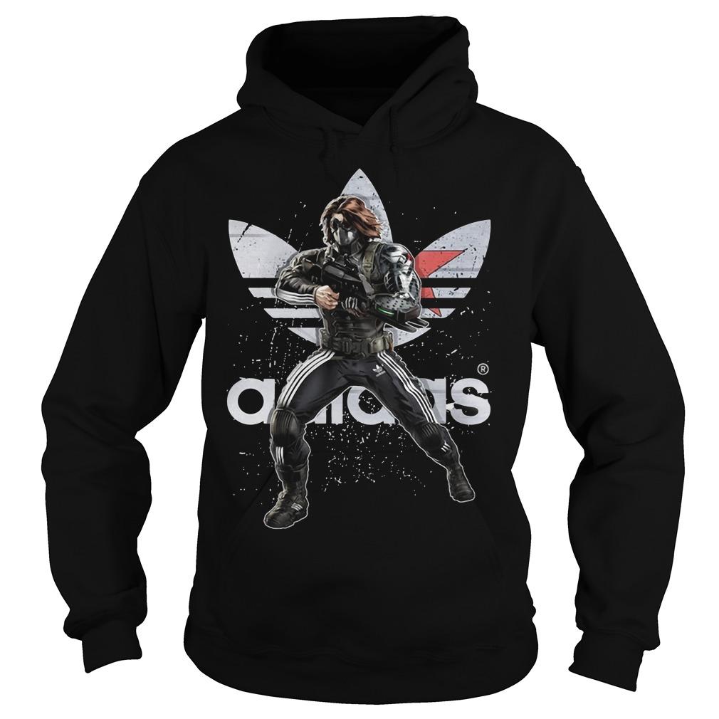Bucky - Winter Soldier Adidas Hoodie
