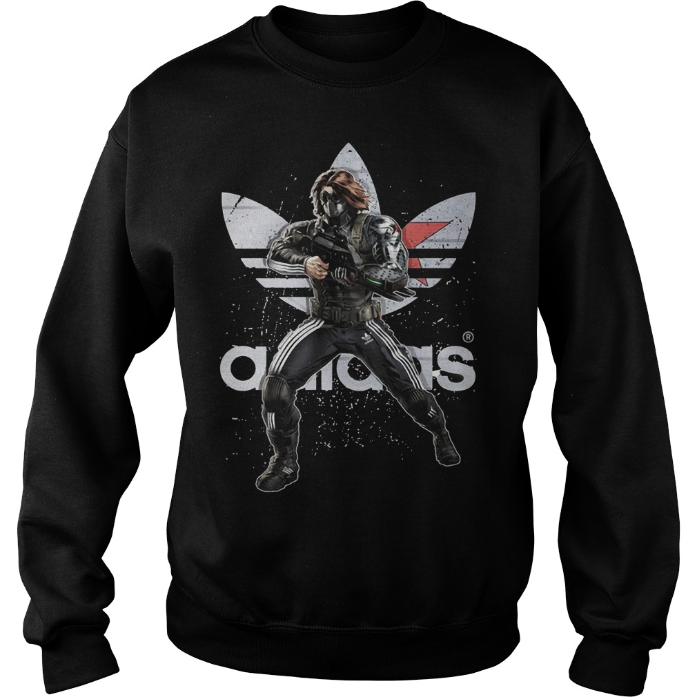 Bucky - Winter Soldier Adidas Sweater