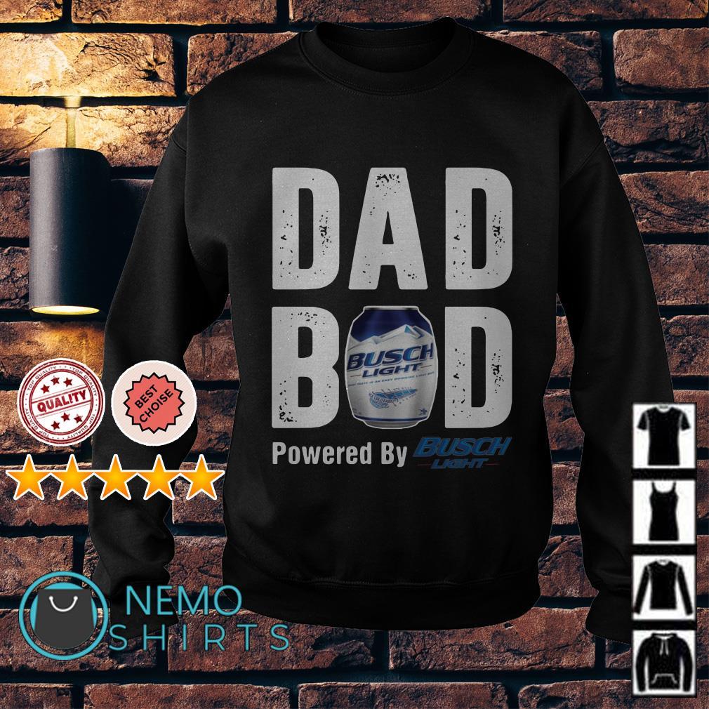 Dad bod powered by Busch Light Sweater