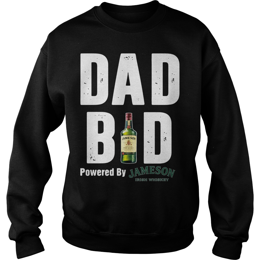Dad bod powered by Jameson Irish Whiskey Sweater