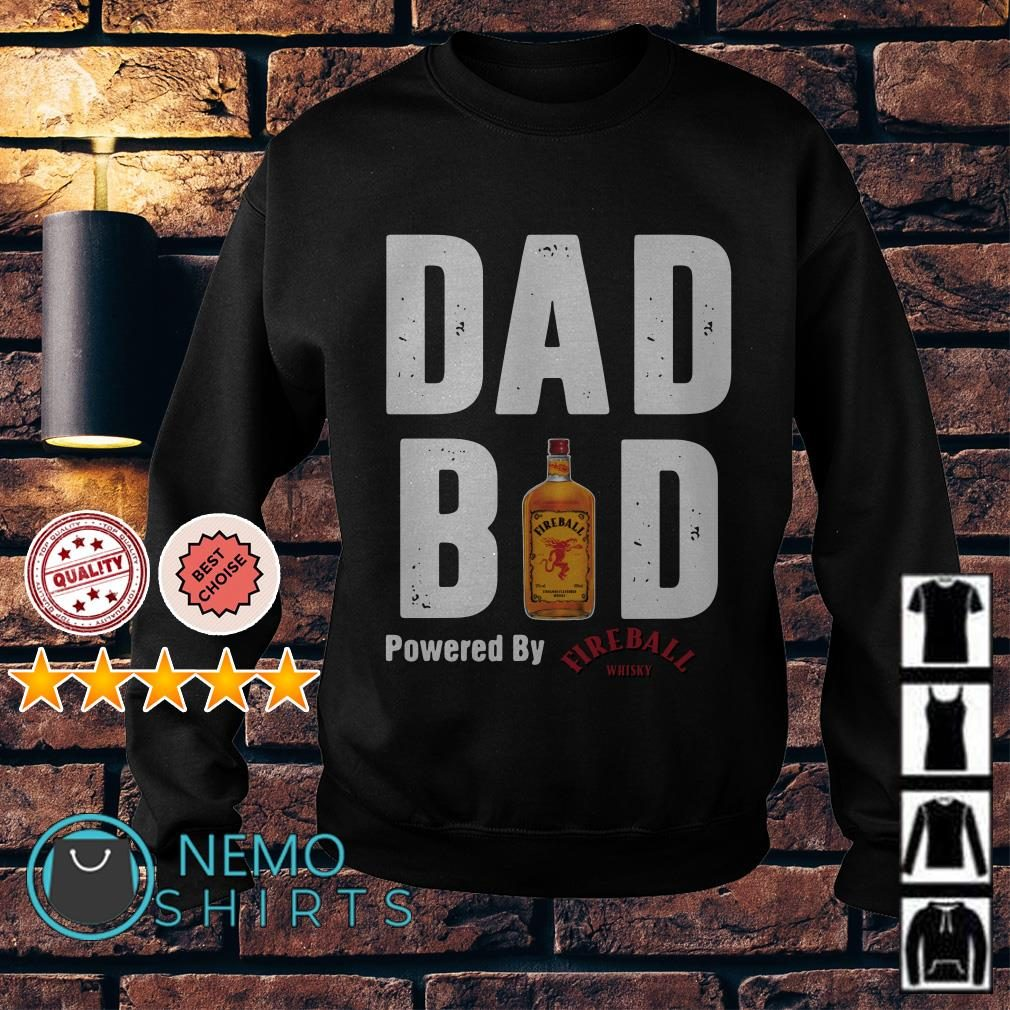 Dad bod powered by Fireball Sweater