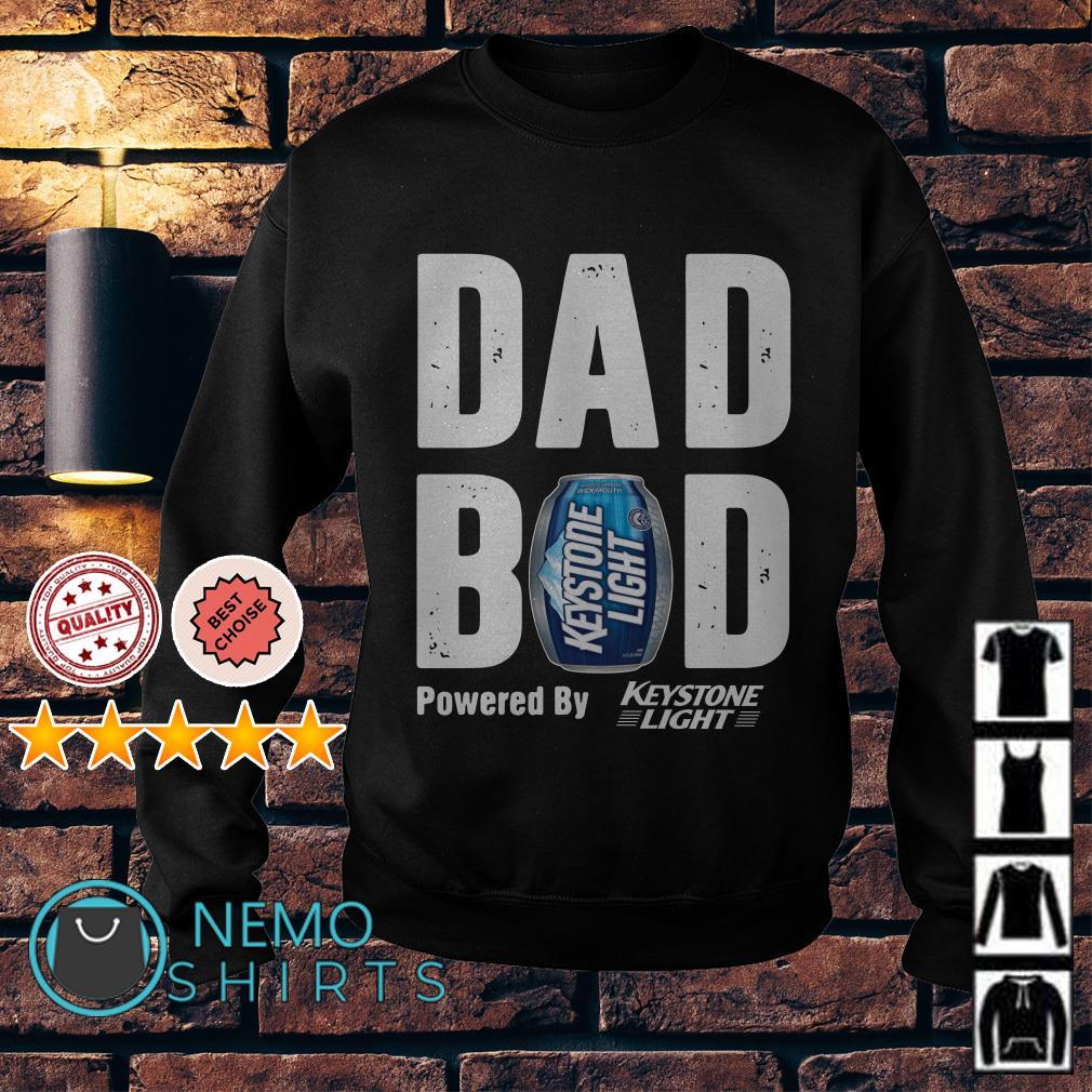 Dad bod powered by Keystone Light Sweater