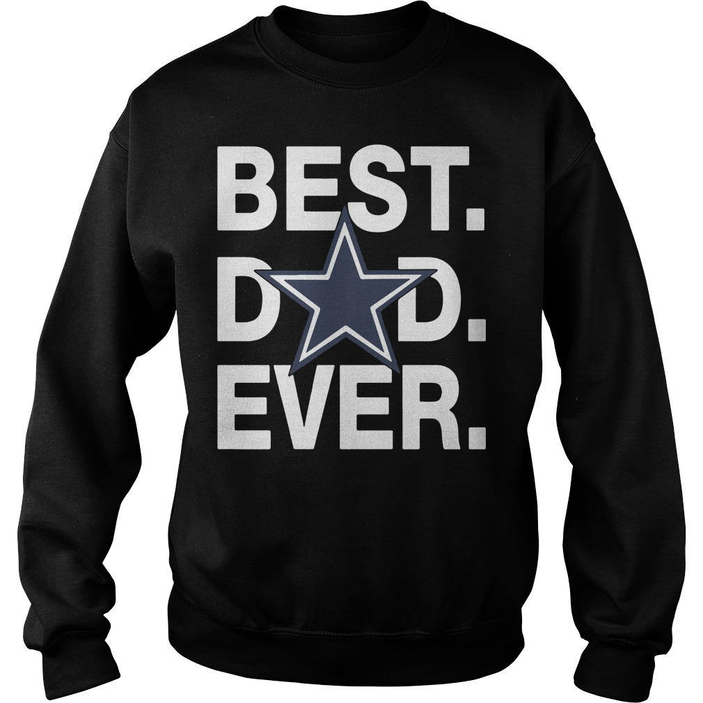 Dallas Cowboys Best Dad Ever Sweater