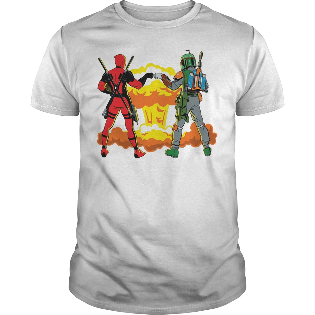 Deadpool and Boba Fett - Deadfett shirt