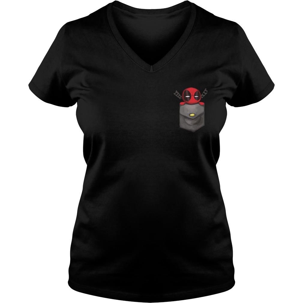 Deadpool pocket V-neck t-shirt