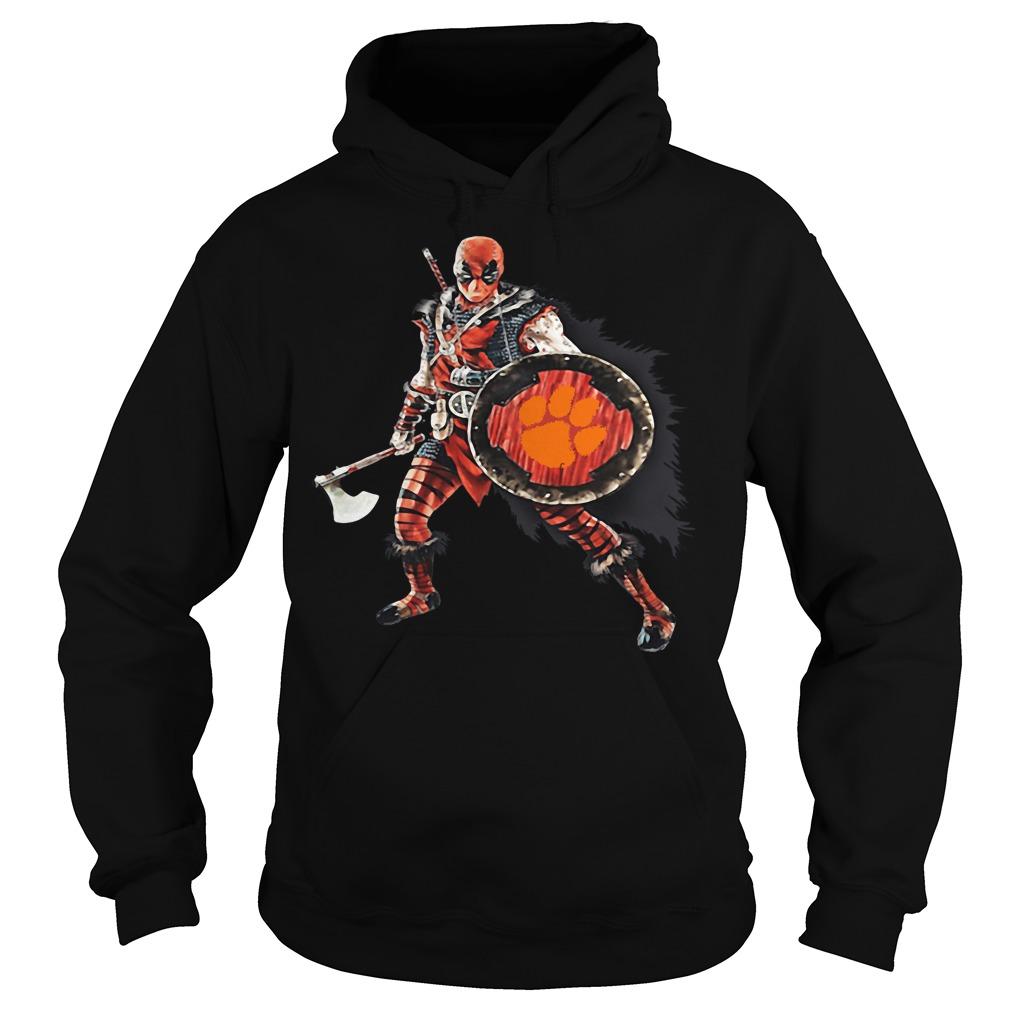 Deadpool Viking Clemson Tigers Hoodie