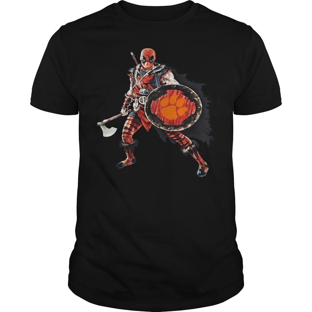 Deadpool Viking Clemson Tigers shirt