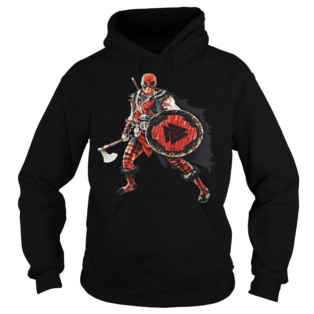 Deadpool Viking Hoodie